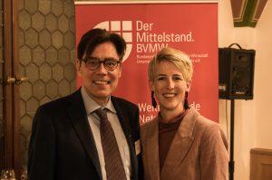 Rathausempfang 2019 mit Stadträtin katrin Habenschaden