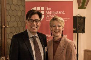 Rathausempfang München mit Katrin Habenschaden
