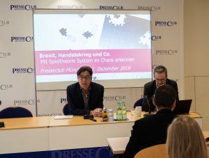 Spieltheorie-Präsentation im Presseclub München mit TWS Partners