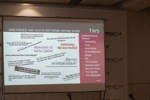 Mit TWS Partners im Presseclub München