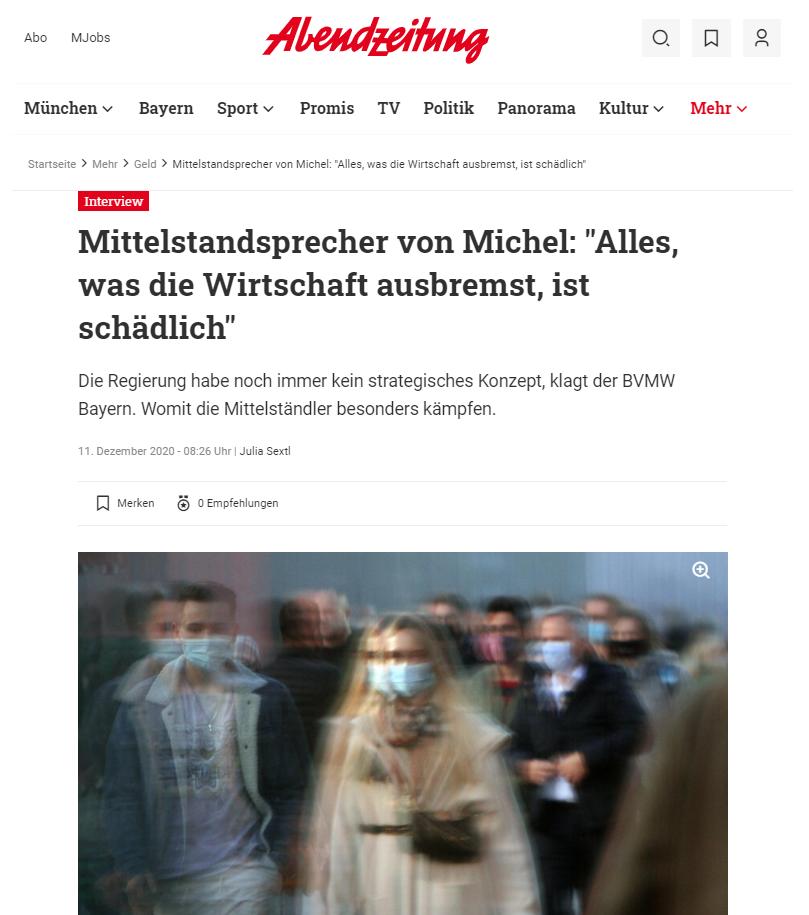 Achim von Michel Interview Abendzeitung München