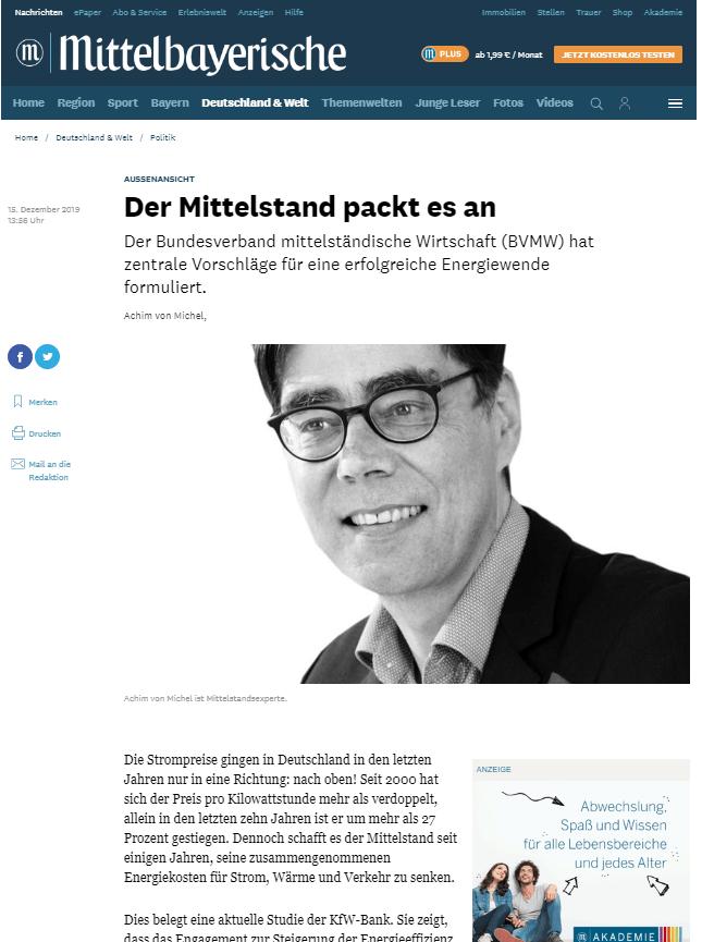 Politikberatung München Achim von Michel