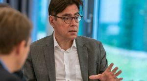 Achim von Michel - Redaktionsgespräch bei der Zeitschrift EnergieSpektrum