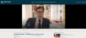 Achim von Michel Bayerischer Rundfunk Interview Coronakrise Wirtschaft