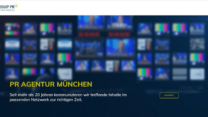 WORDUP PR Agentur München mit neuer Anschrift und neuer Website