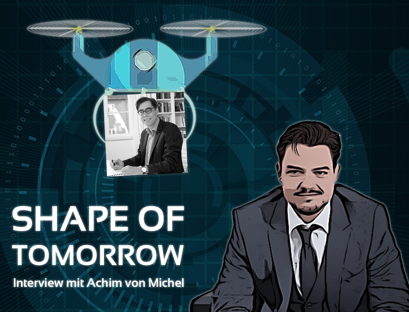 Shape of tomorrow podcast achim von michel