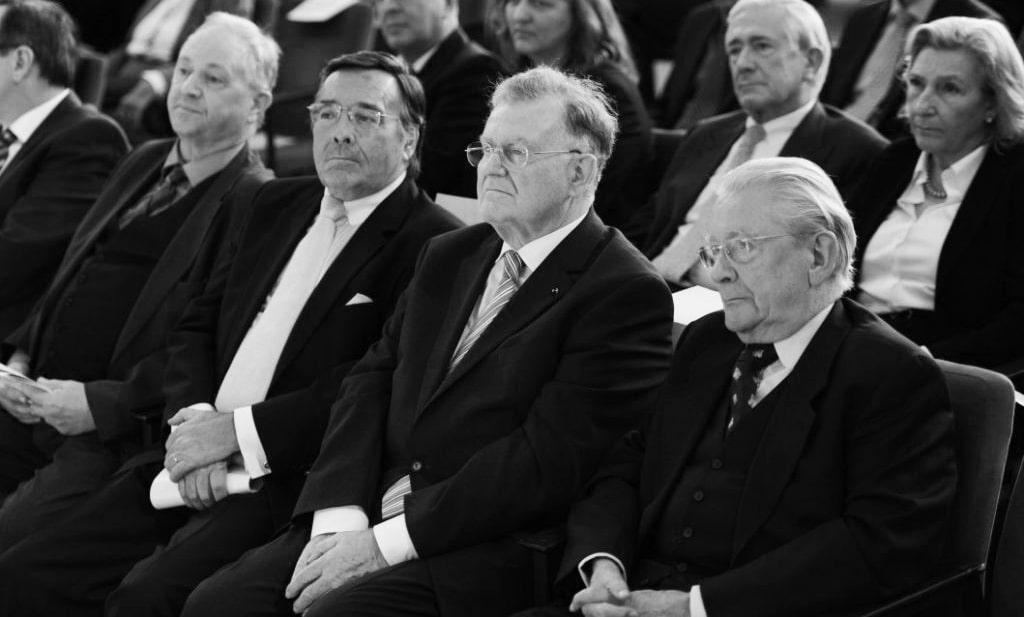 Verleihunng des Innovationspreises DIESELMEDAILLE mit Mario Ohoven und Erwin Teufel