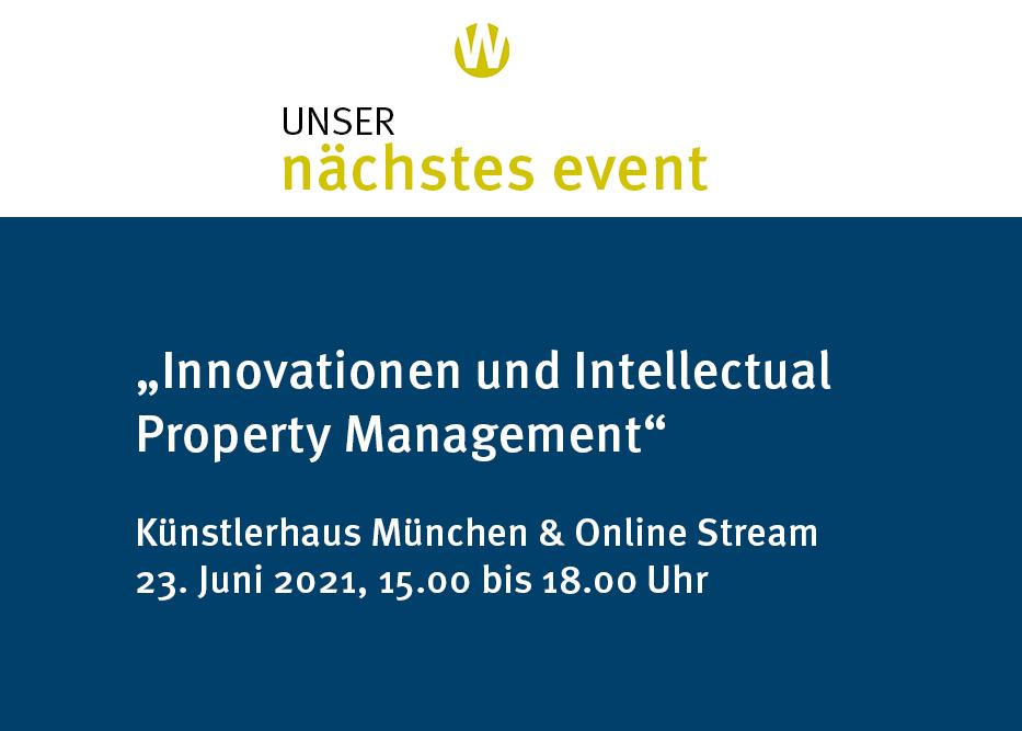 Anaqua Intellectual Property Event Juni 2021