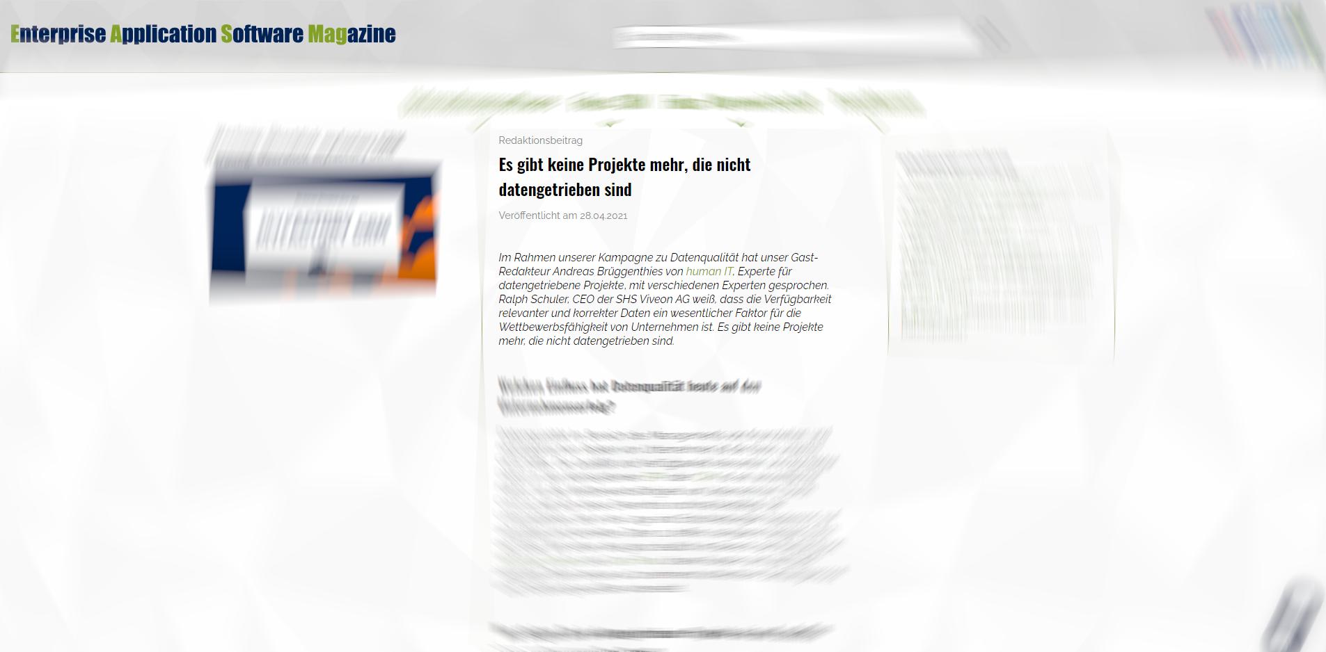 EAS-MAG.digital: SHS Viveon